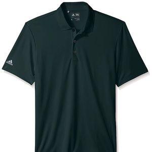 Adidas Mens Golf Performance Shirt Green Small